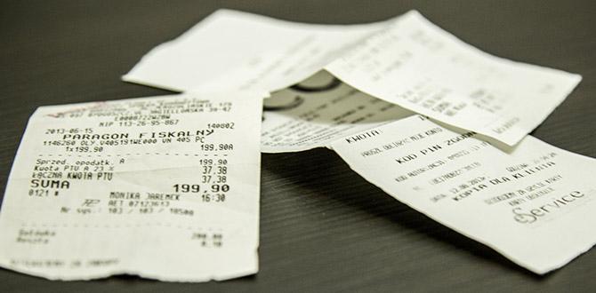 Rozbijanie paragonu na kilka wydatków